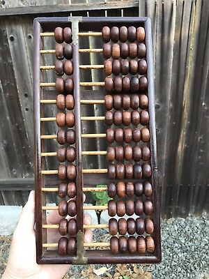 Chinese Antiques HaiNan Huanghuali Abacus Qing Ming China Asian