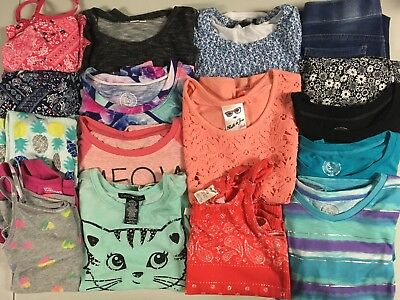 Large Lot of Girl Clothes Size 10