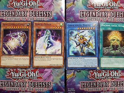 Yu-Gi-Oh Legendary Duelists: Sisters of the Rose Common - YOU PICK FROM LIST!