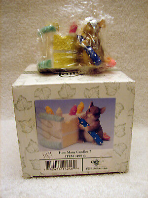 New Charming Tails - How Many Candles figurine Item No 89-713