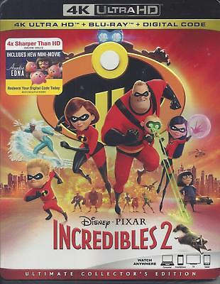 The Incredibles 2  (4K Ultra Hd/bluray)(2 Disc Set)(Used)