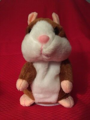 Cheeky Hamster Repeats What You Say Electronic Pet Talking Plush Toy Free Shipp