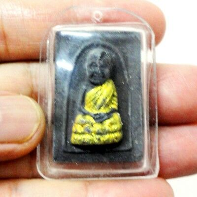 Thai Buddha Amulet Old LP Tuad Pendant AYUTTHAYA Buddhist Art Antique gorgeous