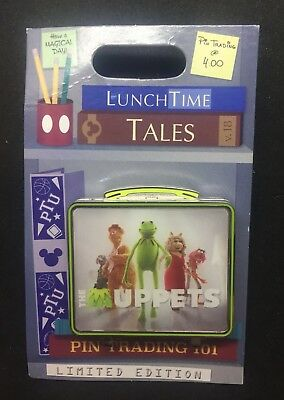 Disney Parks LunchTime Lunch Time Tales Box The Muppets Pin LE 1500