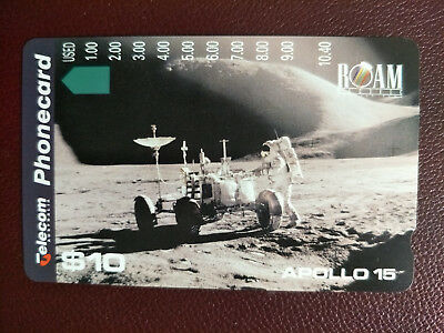 Mint $10 Apollo 15 Phonecard Prefix 631