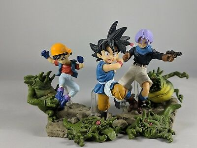 Trunks GOKU Pan Imagination Gashapon Dragon Ball GT FIGURE SUPER RARE BANDAI HG