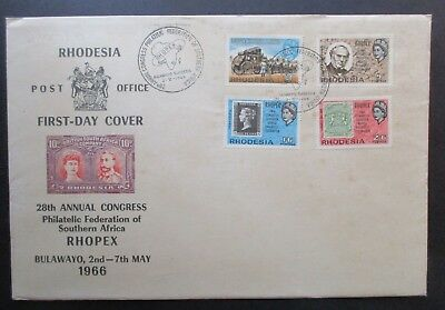 Rhodesia ....first Day Cover 1966