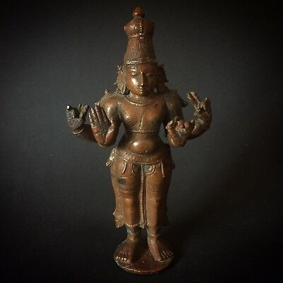 India Nepal Indien Bronze Brass Old Buddha Asia