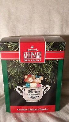 1992 Hallmark Ornament Our first Christmas Together