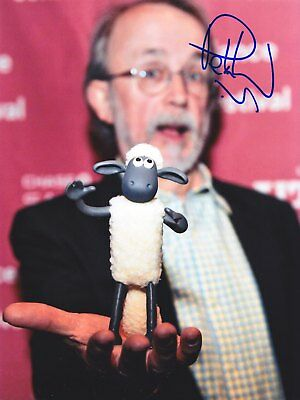 PETER LORD (Wallace & Gromit, Shaun, Chicken Run) AUTOGRAPHE RARE avec preuve !!