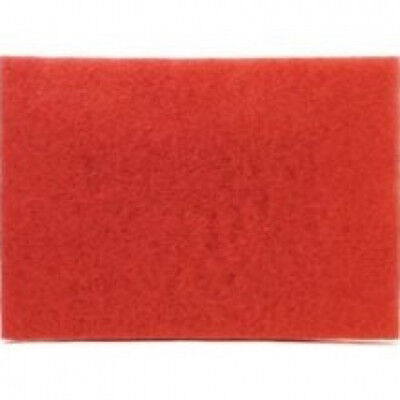 3M Red Buffer Pad 5100, 50.8cm x 35.6cm , 10/Case. Shipping Included