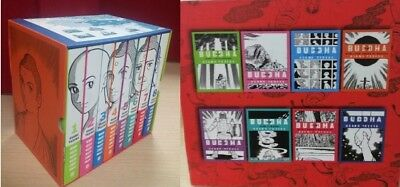 Buddha by Osamu Tezuka- A Box Set of  8 Graphic (Illustrated) Books for