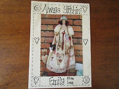 Always Stitching Doll Pattern Of Emily By Debbie Magee From 2003