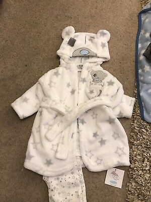 baby dressing gown Set 6-9 Months Tatty Teddy