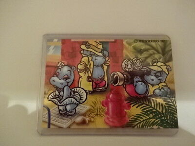 """1997 """" Puzzle """" Happy Hippo Hollywood - OR + BPZ"""