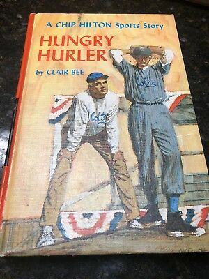 23 Chip Hilton Sports Story Hungry Hurler by Clair Bee 1966 1st Edition LAst One