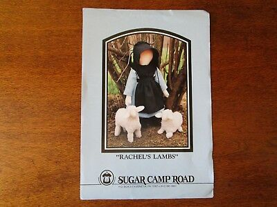 Pattern For Rachel & Her Lambs From Sugar Camp Road From 1992