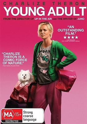 Young Adult (DVD, 2012) REGION-4-LIKE NEW-FREE POST IN AUSTRALIA