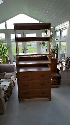 Ikea baby unit that turns into chest of drawers. And a added shelf unit.