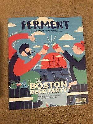 FERMENT MAGAZINE  #34 The Boston Beer Party