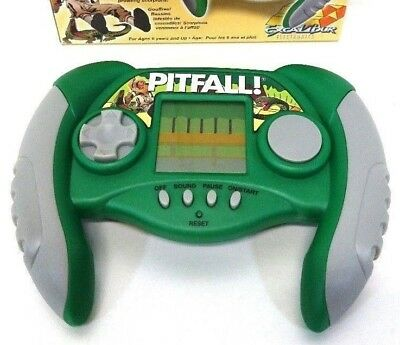 Pitfall Harry's Jungle Adventure LCD Handheld Game Excalibur Electronics