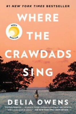 Where the Crawdads Sing by Delia Owens HARDCOVER 2018 New Free Shipping