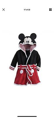 Kids mickey mouse dressing gown 1-2 Years Clothing