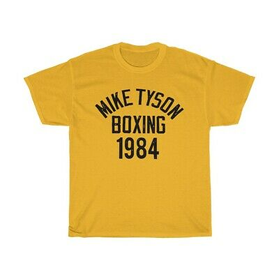 94f5957fcb875 MIKE TYSON BOXING 1984 Roots of Fight Mens T-Shirt Repint Limited edition
