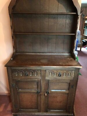 Beautiful Dark Oak Welsh dresser- Circa 1930