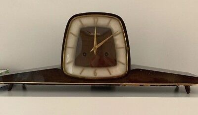Late Art Deco Dugena Clock