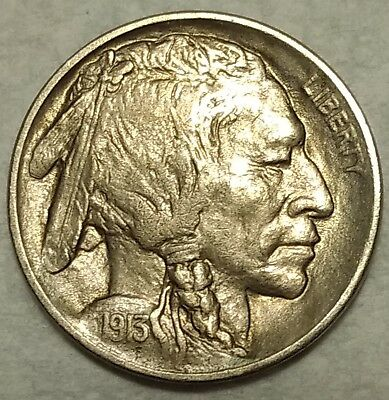 Slider Uncirculated 1913-P Buffalo Nickel! Sharp, first year issue!