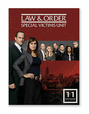 Law And Order SVU - Special Victims Unit : Season 11 DVD : NEW