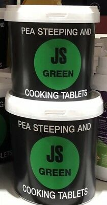 160 Green Pea Steeping And Cooking Tablets JSG JS Green Chip Shop Mushy Peas