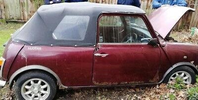 Classic Mini Mayfair Automatic Soft top Barnfind Resto Project