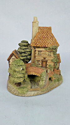 David Winter Sculpture Figurine TOLLKEEPERS COTTAGE 1984
