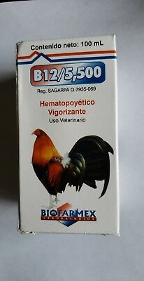 Vitamina B12 5500 100ml / BIOFARMEX's Product