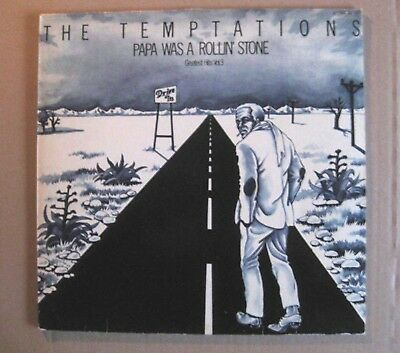 LP THE TEMPTATIONS Greatest Hits Vol. 3 Papa was a Rolling Stone GER TAMLA RE 77