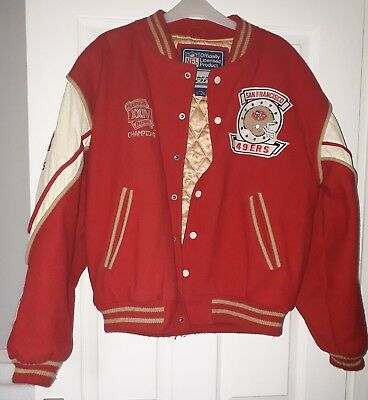 SAN FRANCISCO 49ers  SUPERBOWL JACKET OFFICIAL NFL LICENCED PRODUCT FROM 1990s.