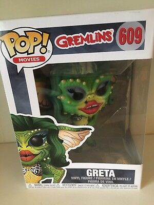 Figurine FUNKO POP Movies Gremlins 2 Greta Neuf #609