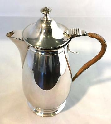 Vintage Silver Plate Coffee Pot / Hot Water Jug