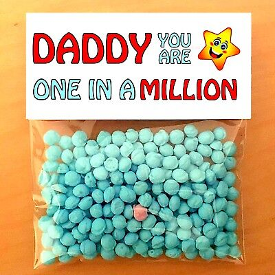 THANK YOU GIFTS One In A Million DADDY MUM Personalised HIM HER CARD FILLER