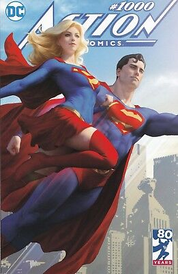 Action Comics #1000 Stanley ARTGERM Lau BUY ME TOYS Variant IN STOCK Ships NOW