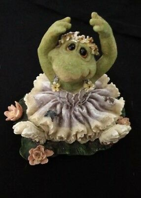 Boyds Bears & Friends TuTu C. Ribbit Frog Lake The Wee Folkstones 1999 numbered