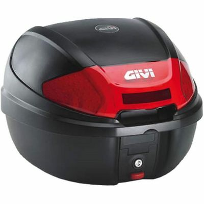 Top Case GiVi E300 Monolock schwarz 30 Liter scooter trunk black 30l capacity