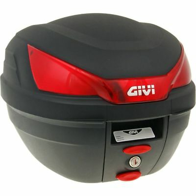 Top Case GiVi B27 Bauletto Monolock schwarz 27 Liter scooter trunk black 27l
