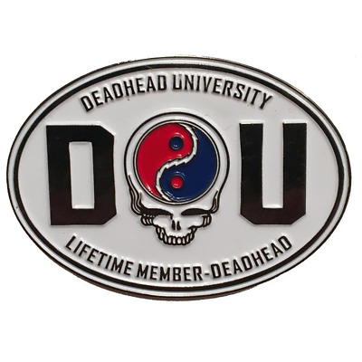 Grateful Dead Pin: Deadhead University, Vintage, Collectible, Grateful Dead Gift