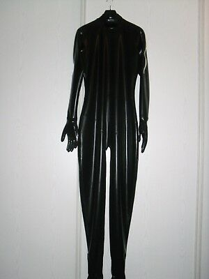 rubber latex catsuit xl
