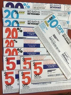 Bed Bath & Beyond coupons 12ct