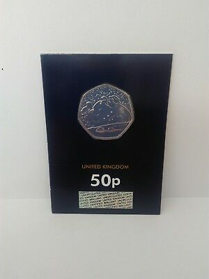 2018 Royal Mint Snowman Fifty pence Coin 50p BU - BUnc - Brilliant Uncirculated