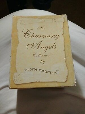 Boyds The Charming Angels Collection Floramella Guardian of Nature 28216 Mint